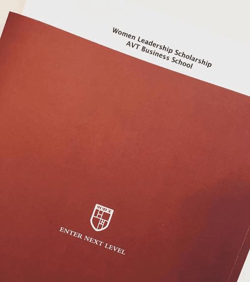 Women Leadership Scholarship at AVT